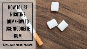 How To Use Nicotine Gum – The Ultimate Review